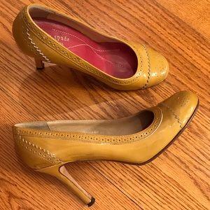 Kate Spade Pumps, Yellow